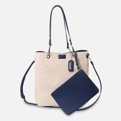 Gisele Reversible Tote with Pouch