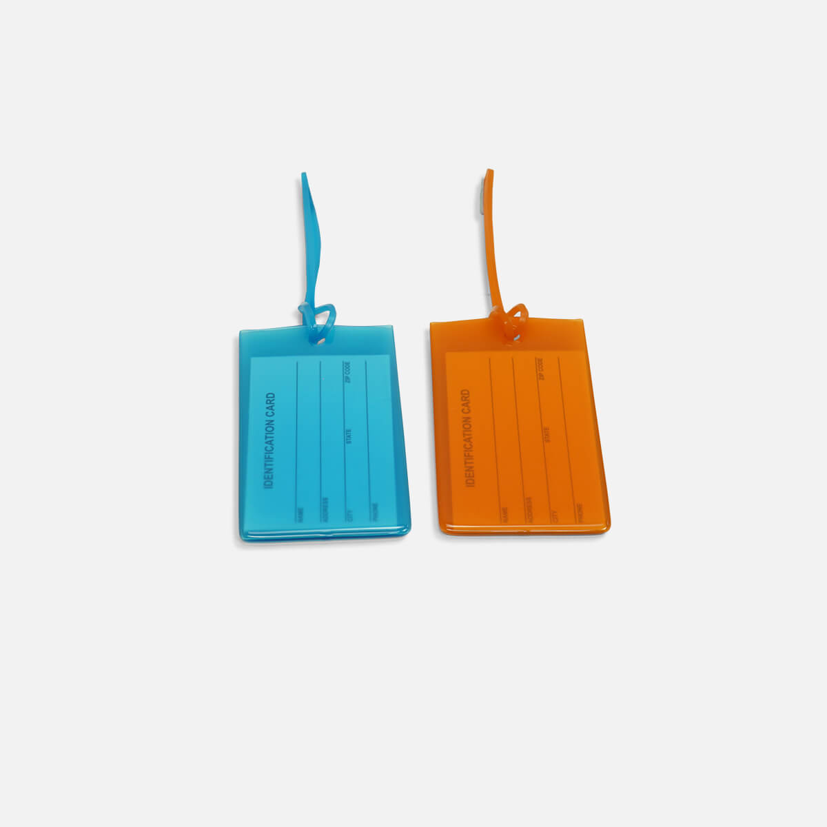Luggage Jelly Tags - set of 2