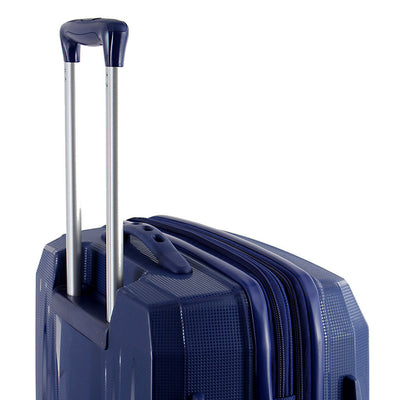 Zoomlite Jetsetter 60cm Medium Check In Lightweight suitcase with recessed trolley and soft top handle