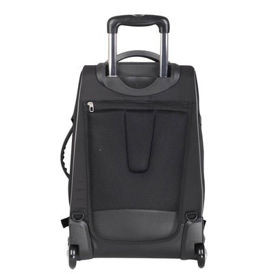 Zoomlite Wheeled Backpack has foldaway backpack straps