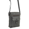 Havana Leather Crossbody Messenger