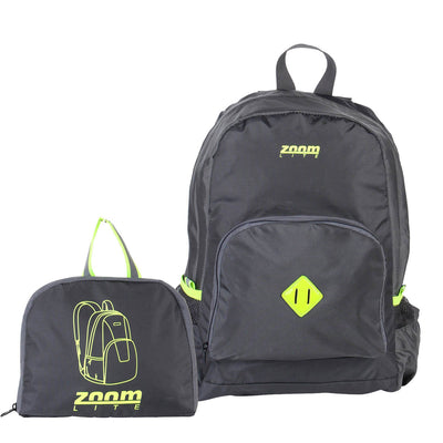 Zoomlite Magic Lightweight Packable backpack folds into its own pouch
