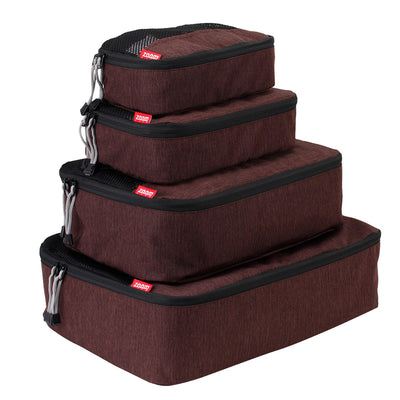 Packing Cube-Executive 4 Pc Set - Chocolate