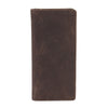 Texas Ziparound RFID Leather Secure Travel Wallet - Brown , Zoomlite - 3