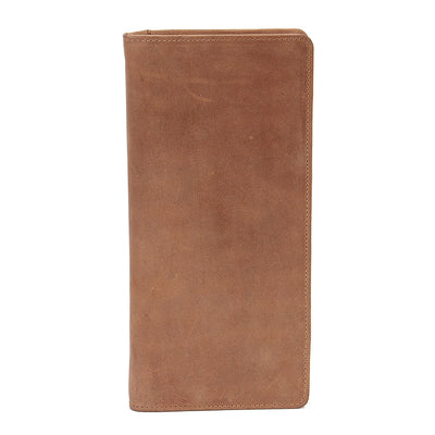 Texas Ziparound RFID Leather Secure Travel Wallet
