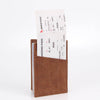 Zoomlite vintage leather travel wallet with RFID protection