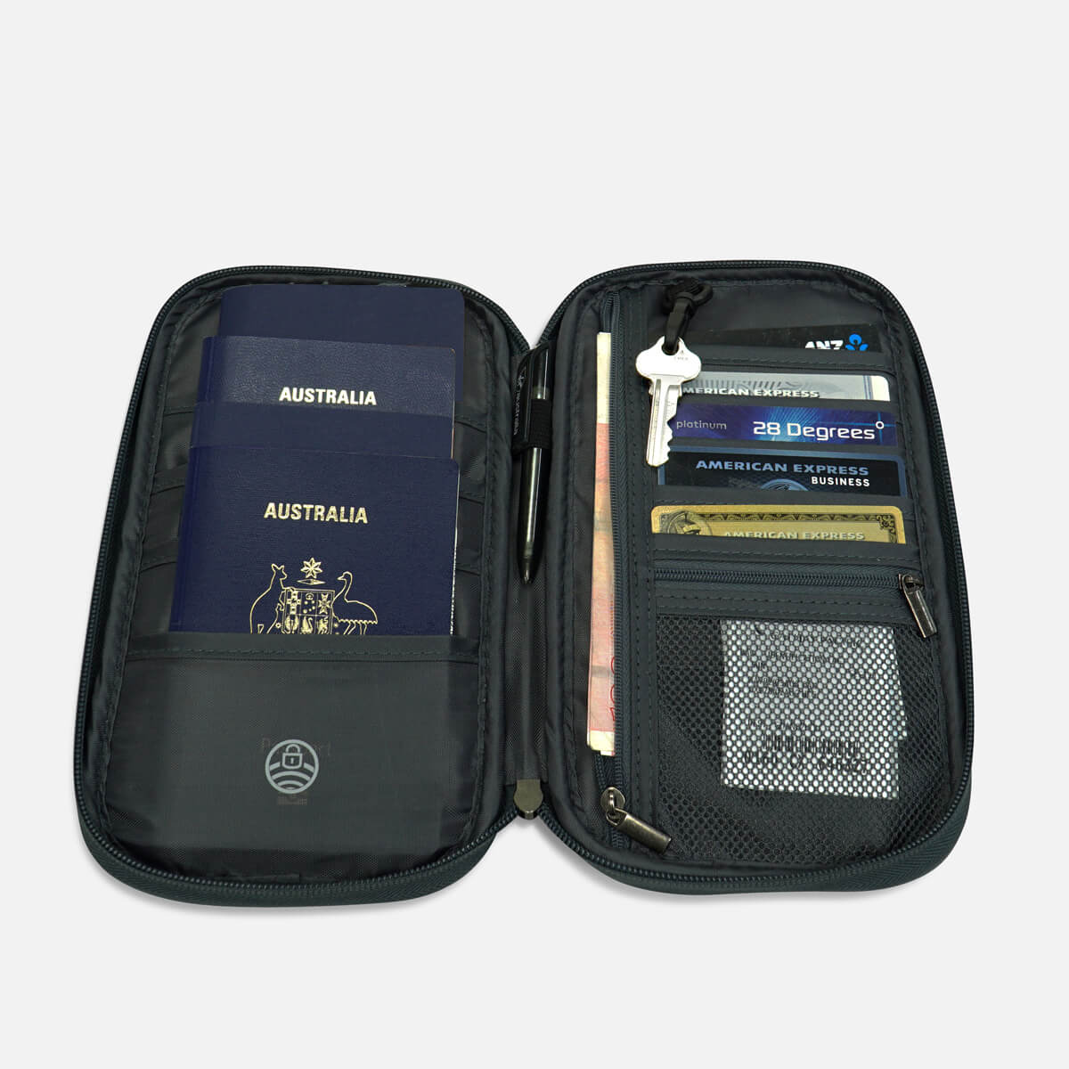 RFID protected Family Travel Wallet
