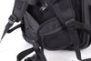 Zoomlite Road Warrior Travel Carryon Backpack - Black - great back support for long journeys