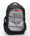 Zoomlite Road Warrior Travel Carryon Backpack - Black - has an organiser section