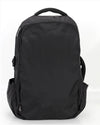 Zoomlite Road Warrior Travel Carryon Backpack - Black - backpack straps hide away when not in use