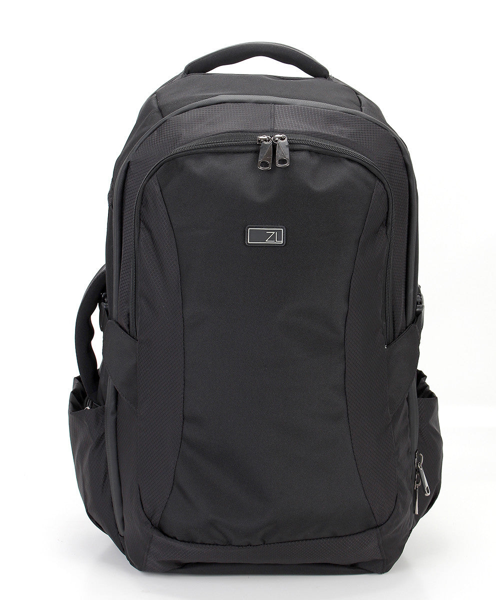 Zoomlite Road Warrior Travel Carryon Backpack - Black