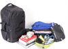 Zoomlite Road Warrior Travel Carry-on Backpack - Black