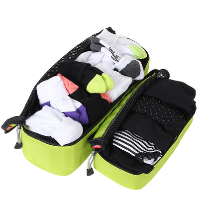 Slim Packing Cube 2 Pc set - great for small items like socks and undies