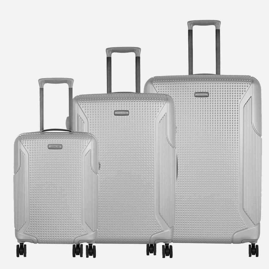 Titania Luggage Set - 3 pcs 100% PC hardcase set