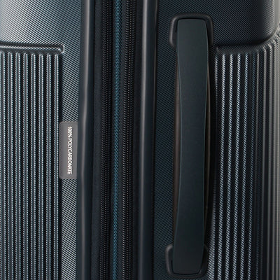 Zoomlite Titania travel luggage has soft grip handles
