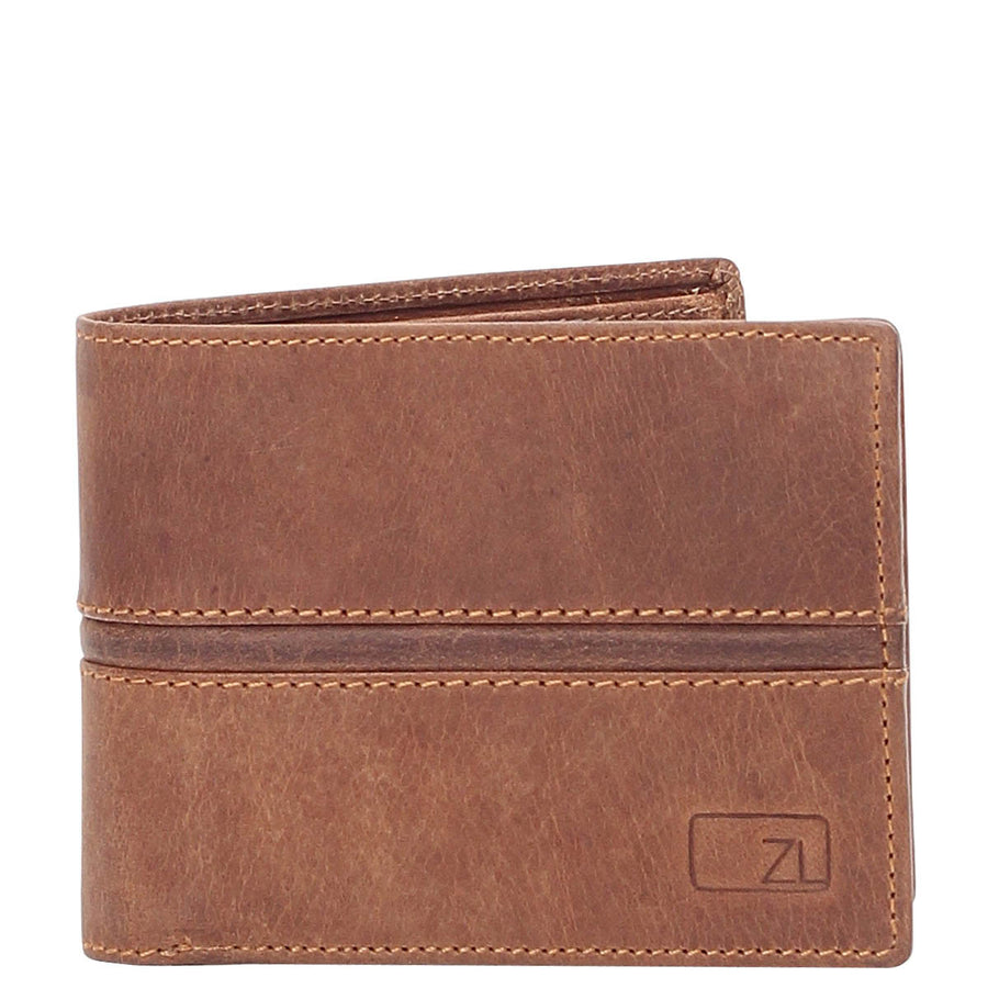 Parker Vintage Leather RFID Blocking Coin Wallet
