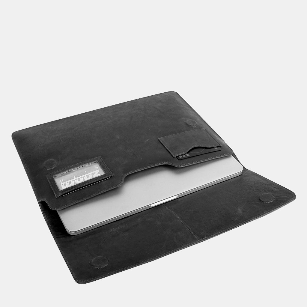 Steve Vintage Leather Laptop Sleeve