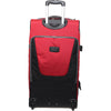 Tarmac Drop-Bottom Wheel Duffel - Large - Red , Zoomlite - 4