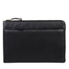 Zoomlite Black leather Laptop sleeve
