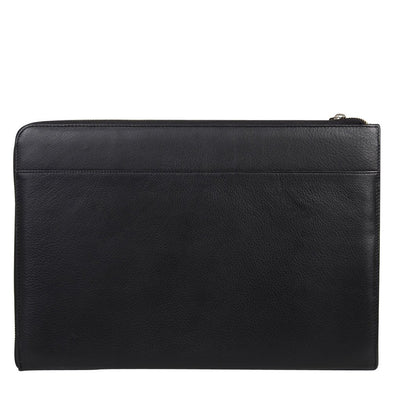 Zoomlite zippered leather tablet and laptop sleeve