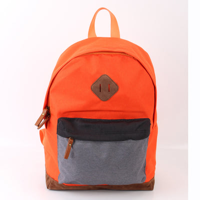Zoomlite Classic Colourblock Backpack - Red