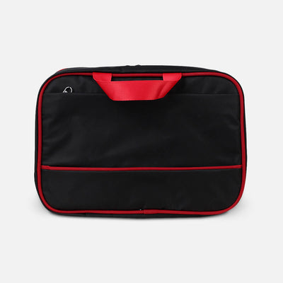 Zoomlite toiletry kit with easy grab handles and external zip pocket