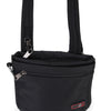 Zoomlite anti theft bags - slim crossbody Black with lockable zips