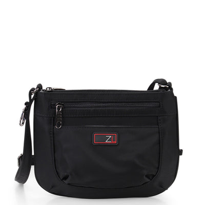 Zoomlite anti-theft bags - Mini Crossbody - Black