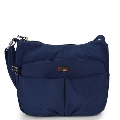 Zoomlite travel safe bags - crossbody shoulder bag - Navy Blue