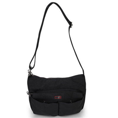 Zoomlite Anti theft crossbody bags - handbag with lockable zippers
