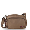 Zoomlite anti-theft travel bag - Crossbody men's bag - Khaki