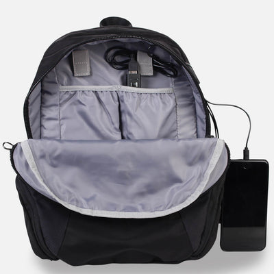 ANTI-THEFT LAPTOP USB POCKET-CABLE MANAGEMENT