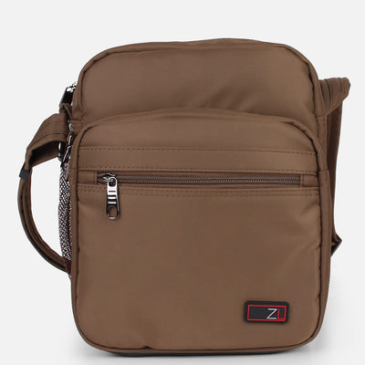 ZL202-KHAKI anti-theft rfid blocking crossbody shoulder travel bag