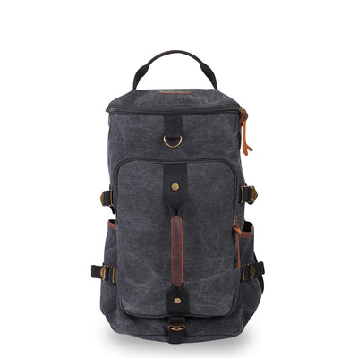 Kakadu Vintage Duffle Backpack - Leather Trimmed