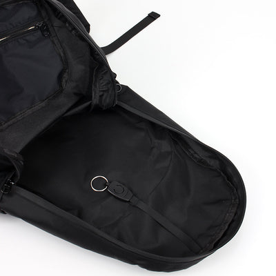 Zoomlite foldable backpack has a detachable keyring