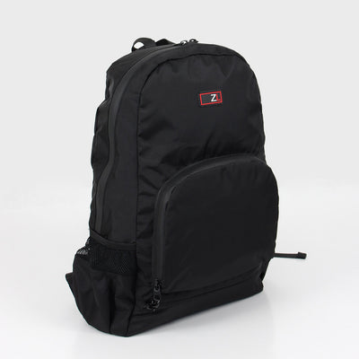 Zoomlite packable backpack in Black