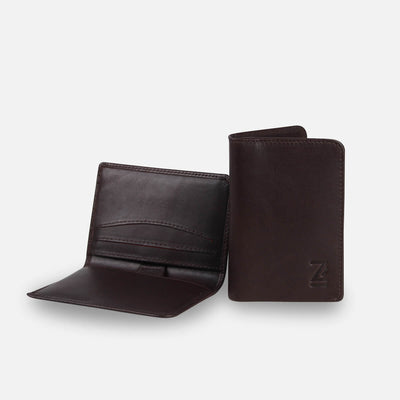 Zoomlite leather wallets - slim wallets, not too bulky