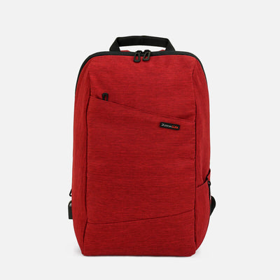 Voyager Anti Theft Backpack#color_burgundy