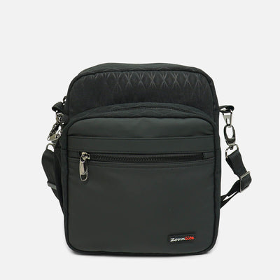 Logan Anti Theft Messenger Bagr#color_blackpattern