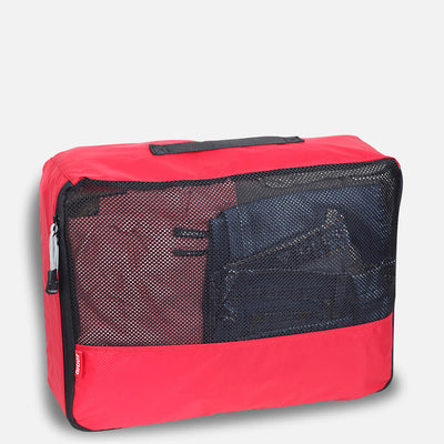 Zoomlite suitcase organisers Large flight mesh bras individual gym double zipper wrinkle free
