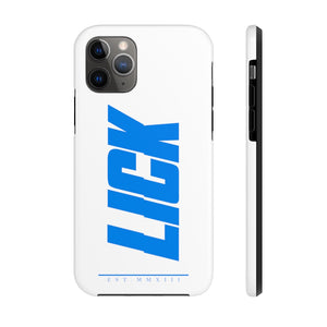 Lick Glitch Phone Case