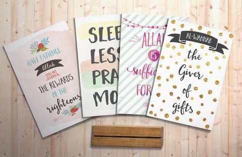 Ramadhan Series Quote Box Collection