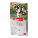 ADVANTIX 10-25 KG. 4 PIPETAS - Farmacia Ortopedia Llueca 24 horas
