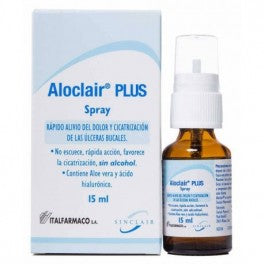 ALOCLAIR PLUS SPRAY 15 ML - Farmacia Ortopedia Llueca 24 horas