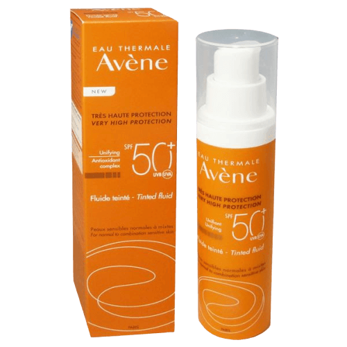 AVENE SOLAR EMULSION COLOREADA SPF-50+  50ML