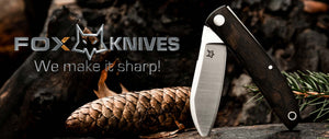 *We offer high quality Fox Knives handcrafted in Italy*   - We at *Dream-Knives* want to make your dream knife a reality –