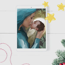 Load and play video in Gallery viewer, Mary & Baby Jesus