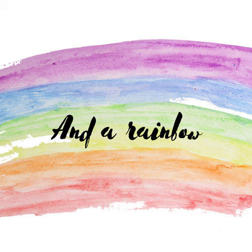Add A Rainbow - Kierra B Art