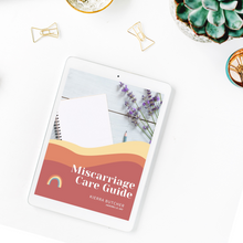 Load image into Gallery viewer, Miscarriage Care Guide (Free Download)