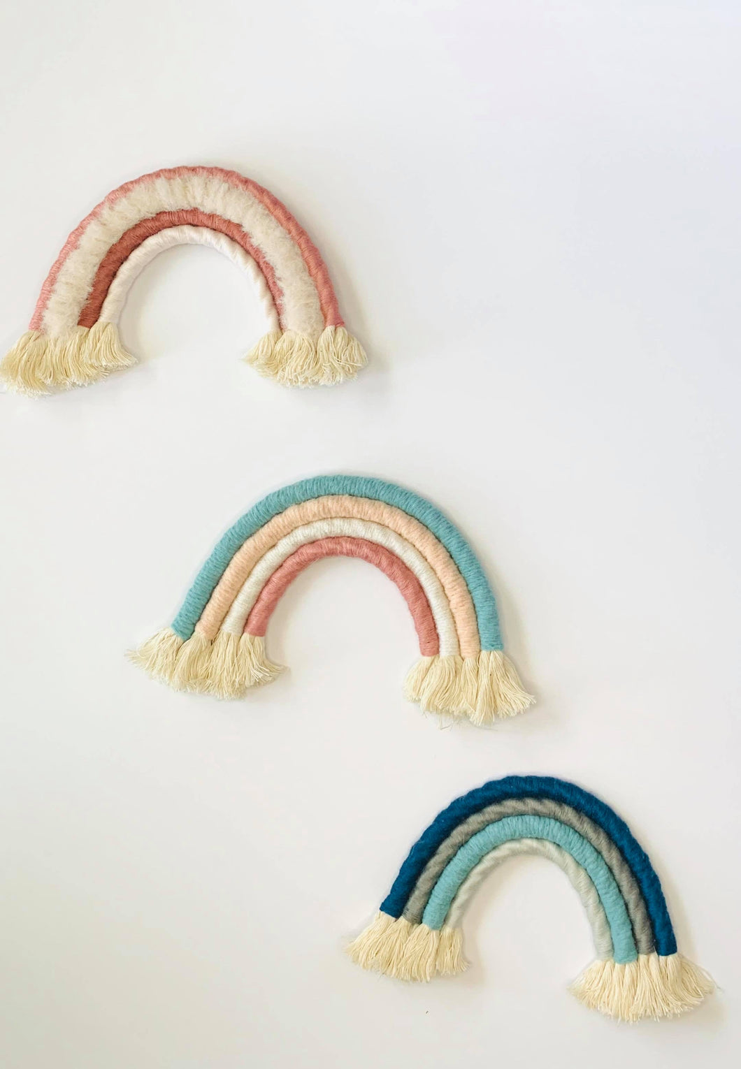 Macrame Rainbow Home Decor - Kierra B Art